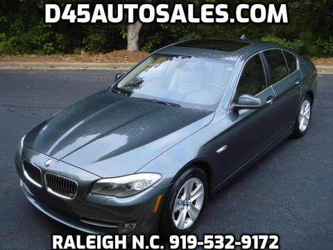 2013 BMW 5 Series for sale at D45 Auto Brokers in Raleigh NC