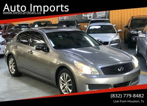 2008 Infiniti G35 for sale at Auto Imports in Houston TX