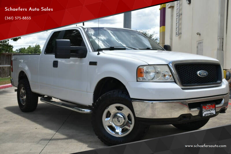 2008 Ford F-150 for sale at Schaefers Auto Sales in Victoria TX
