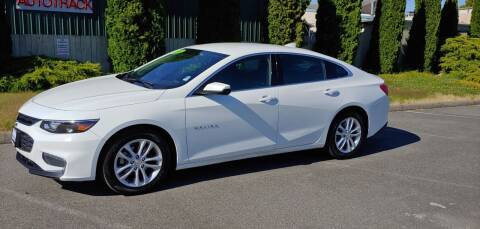 2018 Chevrolet Malibu for sale at AUTOTRACK INC in Mount Vernon WA