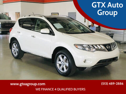2010 Nissan Murano for sale at GTX Auto Group in West Chester OH