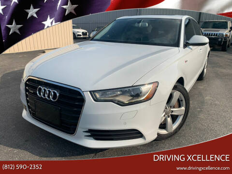 2012 Audi A6 for sale at Driving Xcellence in Jeffersonville IN