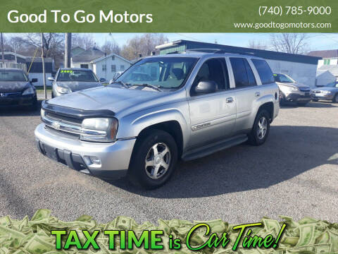 2004 Chevrolet TrailBlazer for sale at Good To Go Motors in Lancaster OH