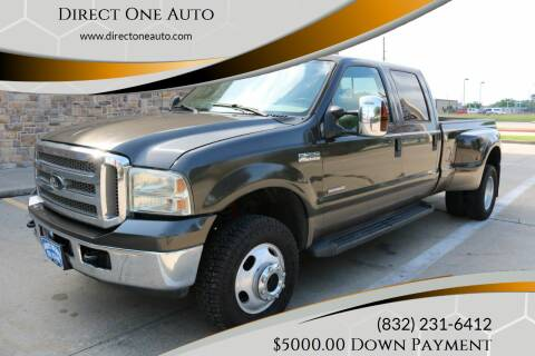 2007 Ford F-350 Super Duty for sale at Direct One Auto in Houston TX