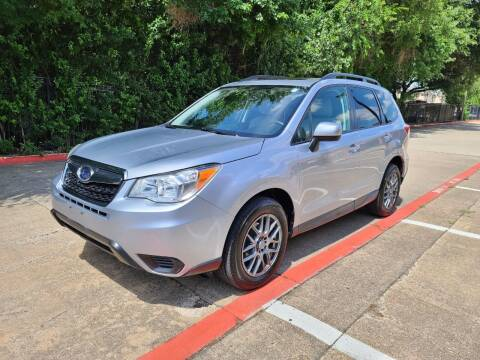2015 Subaru Forester for sale at DFW Autohaus in Dallas TX