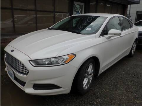 2016 Ford Fusion for sale at Klean Carz in Seattle WA
