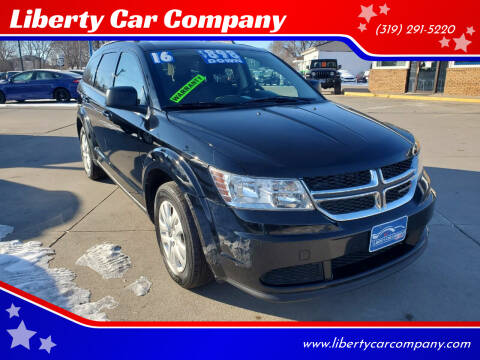 2016 Dodge Journey for sale at Liberty Car Company in Waterloo IA