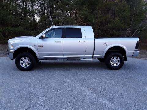 2012 RAM Ram Pickup 3500 for sale at H P M Sales in Goffstown NH