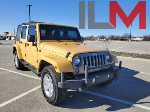 2014 Jeep Wrangler Unlimited for sale at INDY LUXURY MOTORSPORTS in Fishers IN