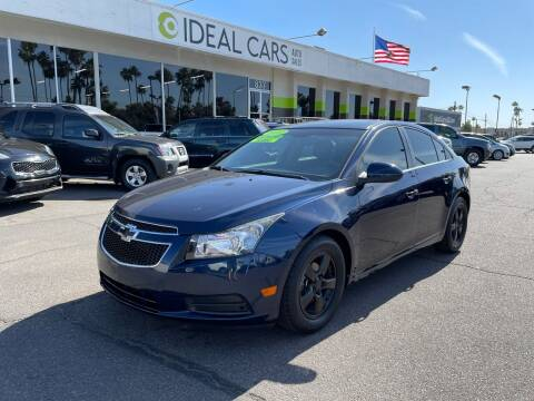 2011 Chevrolet Cruze for sale at Ideal Cars in Mesa AZ