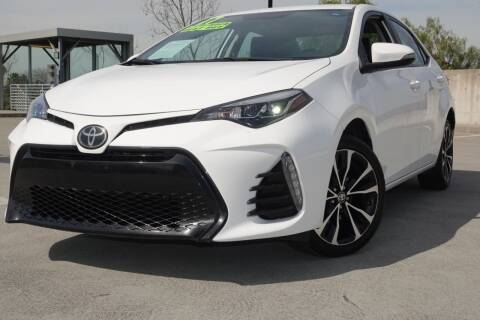 2017 Toyota Corolla for sale at BAY AREA CAR SALES in San Jose CA