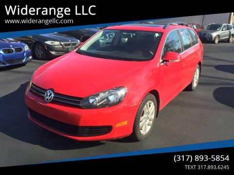 2011 Volkswagen Jetta for sale at Widerange LLC in Greenwood IN