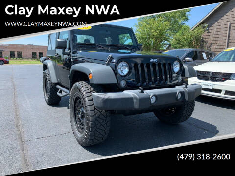2015 Jeep Wrangler for sale at Clay Maxey NWA in Springdale AR