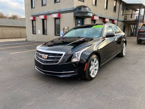 2016 Cadillac ATS for sale at Sisson Pre-Owned in Uniontown PA