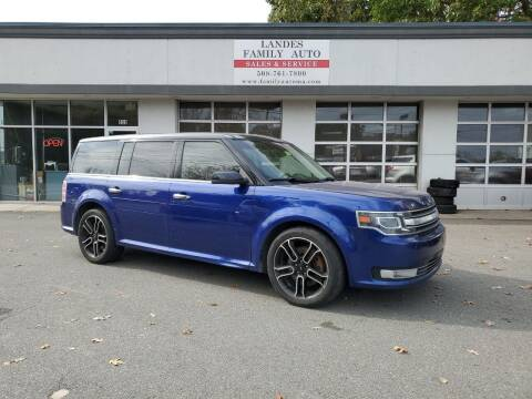 2013 Ford Flex for sale at Landes Family Auto Sales in Attleboro MA