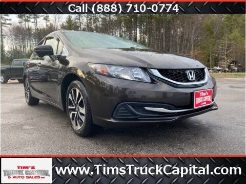 2014 Honda Civic for sale at TTC AUTO OUTLET/TIM'S TRUCK CAPITAL & AUTO SALES INC ANNEX in Epsom NH