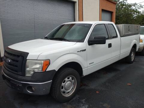 2012 Ford F-150 for sale at LAND & SEA BROKERS INC in Pompano Beach FL