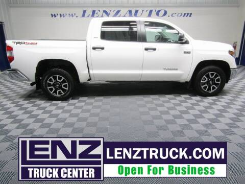 2020 Toyota Tundra for sale at LENZ TRUCK CENTER in Fond Du Lac WI