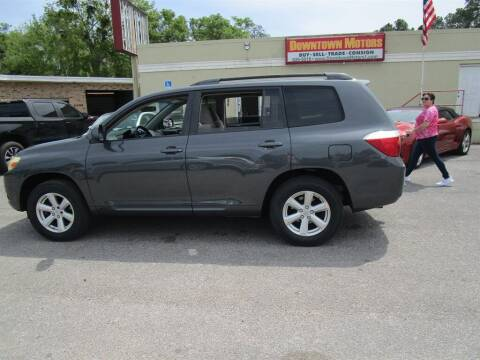 2008 Toyota Highlander for sale at DERIK HARE in Milton FL