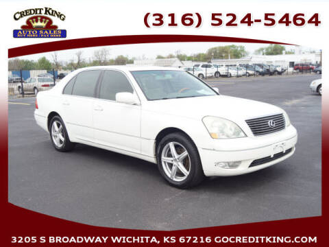 2003 Lexus LS 430 for sale at Credit King Auto Sales in Wichita KS