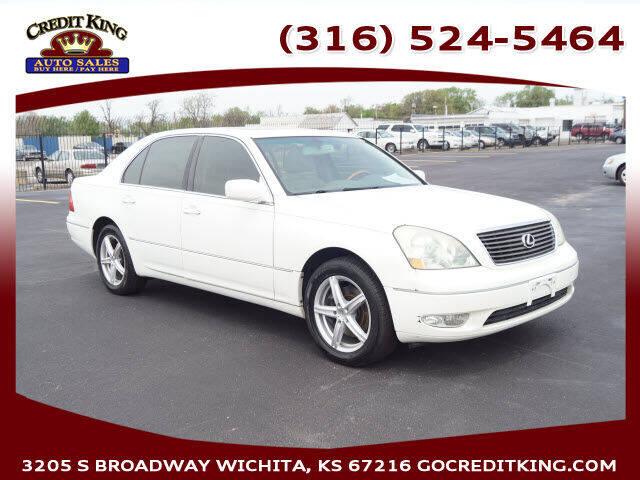 2003 Lexus LS 430 for sale at Credit King Auto Sales in Wichita KS