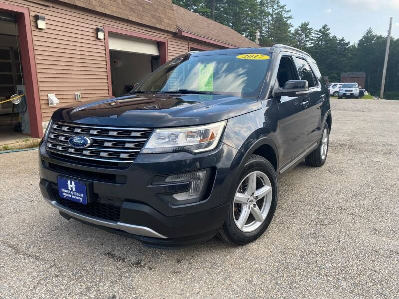 2017 Ford Explorer for sale at Hornes Auto Sales LLC in Epping NH