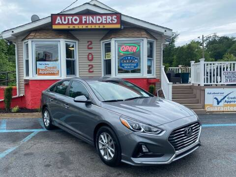 2018 Hyundai Sonata for sale at Auto Finders Unlimited LLC in Vineland NJ