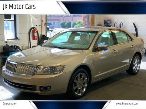 2007 Lincoln MKZ for sale at JK Motor Cars in Pittsburgh PA
