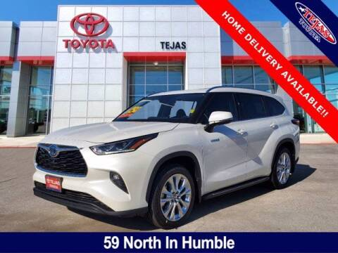 2021 Toyota Highlander Hybrid for sale at TEJAS TOYOTA in Humble TX