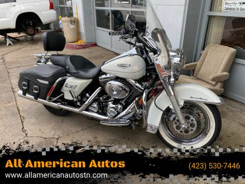 2002 Harley Davidson FLHRCI (Road King Classic) for sale at All American Autos in Kingsport TN