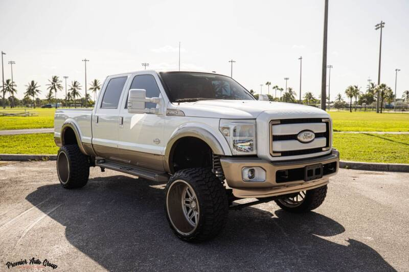 2013 Ford F-250 Super Duty for sale at Premier Auto Group of South Florida in Wellington FL