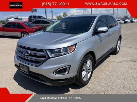 2017 Ford Edge for sale at SOUTHWEST AUTO GROUP-EL PASO in El Paso TX