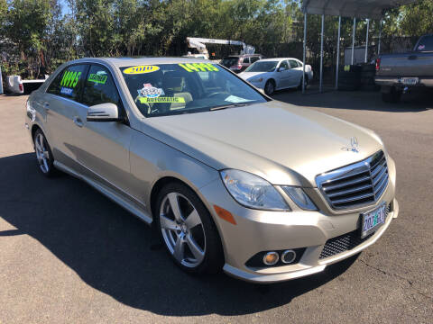 2010 Mercedes-Benz E-Class for sale at Freeborn Motors in Lafayette OR