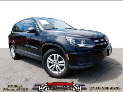 2014 Volkswagen Tiguan for sale at PRIME MOTORS LLC in Arlington VA