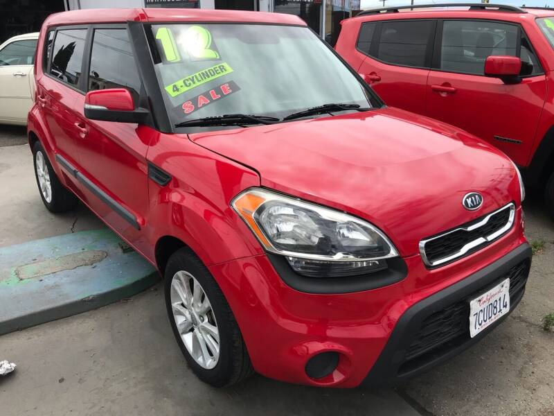 2012 Kia Soul for sale at CAR GENERATION CENTER, INC. in Los Angeles CA