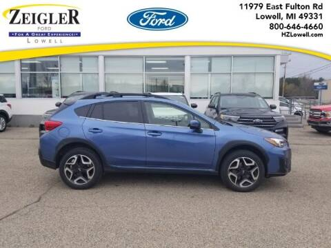 2019 Subaru Crosstrek for sale at Zeigler Ford of Plainwell- Jeff Bishop in Plainwell MI
