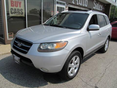 2007 Hyundai Santa Fe for sale at Arko Auto Sales in Eastlake OH