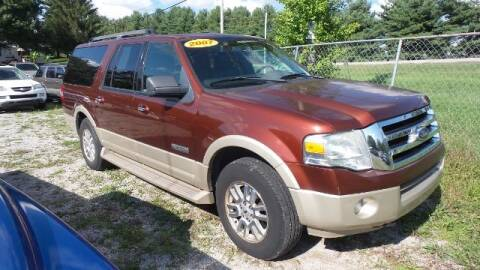 2007 Ford Expedition EL for sale at Tates Creek Motors KY in Nicholasville KY