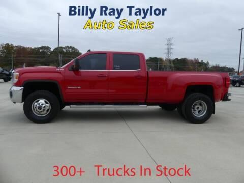 2015 GMC Sierra 3500HD for sale at Billy Ray Taylor Auto Sales in Cullman AL