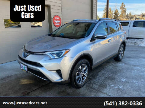 2018 Toyota RAV4 Hybrid for sale at Just Used Cars in Bend OR