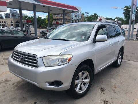 2008 Toyota Highlander for sale at Capitol Hill Auto Sales LLC in Denver CO