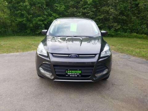 2016 Ford Escape for sale at L & R Motors in Greene ME