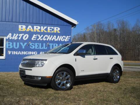 2009 Lincoln MKX for sale at BARKER AUTO EXCHANGE in Spencer IN