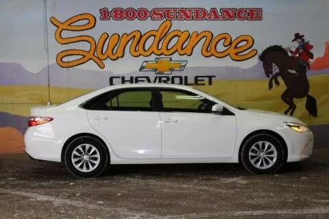 2016 Toyota Camry for sale at Sundance Chevrolet in Grand Ledge MI