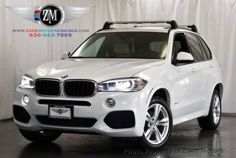 2016 BMW X5 for sale at ZONE MOTORS in Addison IL