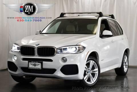 2016 BMW X5 for sale at ZONE MOTORS in Addison IL