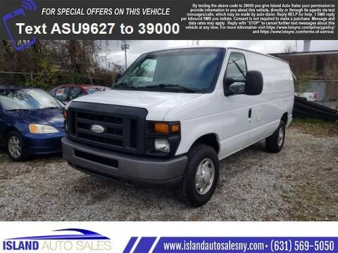 2014 Ford E-Series Cargo for sale at Island Auto Sales in E.Patchogue NY