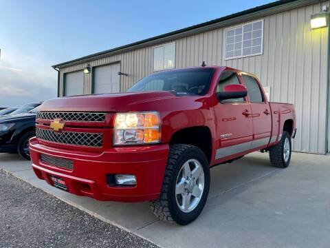 2012 Chevrolet Silverado 2500HD for sale at Northern Car Brokers in Belle Fourche SD