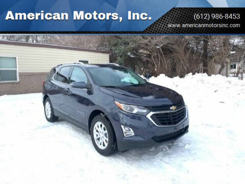 2018 Chevrolet Equinox for sale at American Motors, Inc. in Farmington MN