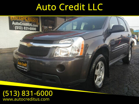 2007 Chevrolet Equinox for sale at Auto Credit LLC in Milford OH
